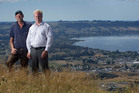 Rotorua MP Todd McClay (right) and Rotorua-Taupo Federated Farmers provincial president Neil Heather. Photo / Alan Gibson
