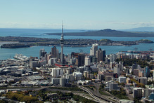 Auckland's water consumption over the week to Sunday was 2,920,200 cubic metres, over 215,000cu m more than in the same week last summer. Photo / Brett Phibbs