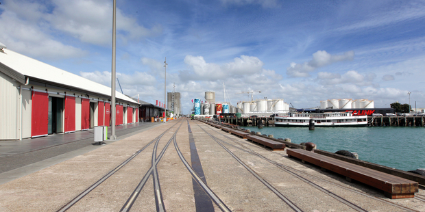 Wynyard Quarter. Photo / Doug Sherring