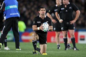 Stephen Donald: Waiuku prodigy to whitebaiter du jour to Rugby World Cup-winning hero. Photo / BOP
