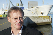 Chief executive Mark Cairns says the ownership model enables Port of Tauranga to invest for growth and productivity, as well as diversify income sources. Photo / APN