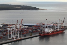 Port of Tauranga's share price rose 0.3 per cent to $13.85 after it reported record first-half earnings. Photo / APN