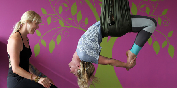 Michelle Keenan of Soul Space Pilates and Yoga in Highland Park, Auckland. Photo / Getty Images