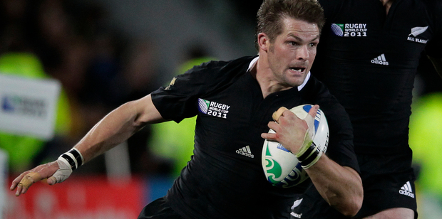 Loading McCaw fits the physical bill for blindside. He is a brutal defender with a massive workrate, strong over the ball without being the most fluent in possession. Photo / NZ Herald