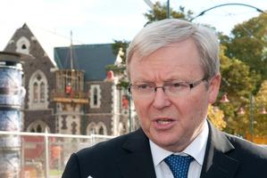 Kevin Rudd. Photo / NZPA