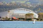 Forsyth Barr Stadium, Dunedin.  Photo / NZPA