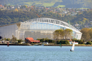 Forsyth Barr Stadium, Dunedin.  Photo / NZPA