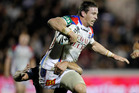 Newcastle coach Wayne Bennett has settled on Kurt Gidley as his main man. Photo / NZPA
