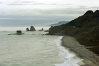 Punakaiki Beach on the West Coast. Photo / File
