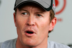 Scott Dixon isn't overly worried he didn't top the time charts this week. Picture / NZPA