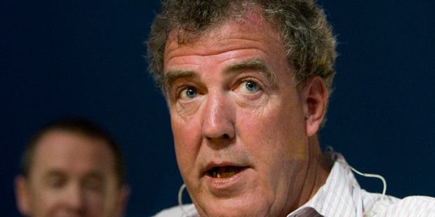 BBC host Jeremy Clarkson (pictured) has been one of Anonymous' twitter hack victims. Now it seems the boot is on the other foot. Photo / NZPA