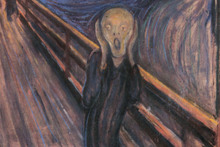 Munch, on hearing IAE.