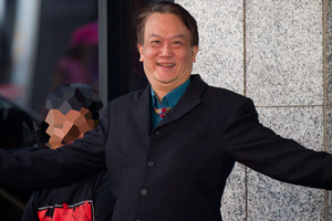 Lawyer Boon Hong at the Auckland District Court. Photo / Richard Robinson