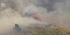 Watch: Scrub fire in Wellington threatened 30 homes