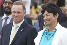 John Key is standing by his Education Minister, Hekia Parata. Photo / Mark Mitchell