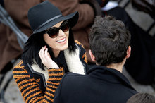 Katy Perry and John Mayer at the US Presidential Inauguration. Photo/AP