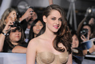 Kristen Stewart attends the world premiere of The Twilight Saga: Breaking Dawn Part II. Photo/AP