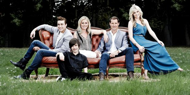 The Turner family from the soap Neighbours. Photo/supplied