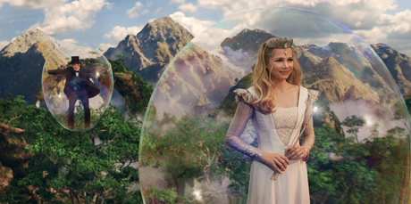 Michelle Williams and James Franco in Oz The Great And Powerful. Photo/supplied