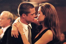 Brad Pitt and Angelina Jolie in Mr & Mrs Smith. Photo/supplied