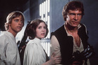 Han Solo, Princess Leia and Luke Skywalker in a scene from the original Star Wars. Photo/supplied