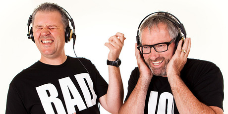 Paul Ego and Jeremy Corbett star in The Radio. Photo/supplied