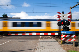 Level crossings will always present possible hazards to pedestrians and cars, and Auckland's railways have 36 of them. Photo / Thinkstock