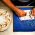 Preparation of Bluff oysters in the Soul kitchen by head chef Gareth Stewart. Photo / NZH