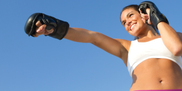 Boxing workouts use all the body's muscles. Photo / Thinkstock