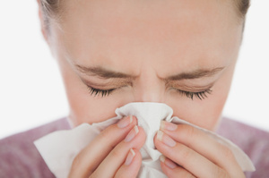 Driving with the sniffles is as dangerous as drink driving - researchers.Photo / Thinkstock