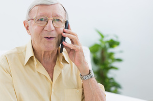A smartphone has been designed specifically for elderly users. Photo / Thinkstock