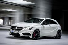 Mercedes-Benz AMG A 45. Photo / Supplied
