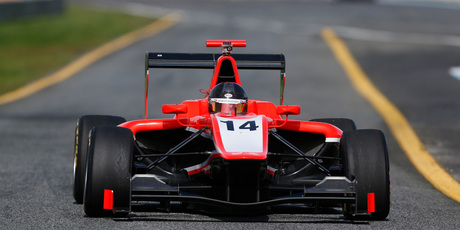 2013 GP3 series testing - Nick Cassidy. Photo / Alastair Staley/GP3