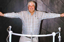 Australian billionaire Clive Palmer has launched plans to build Titanic II. Photo / AP