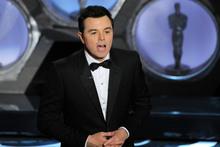 Seth MacFarlane says he won't be hosting the Oscars again. Photo / AP