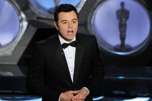 Seth MacFarlane says he won't be hosting the Oscars again. Photo / AP