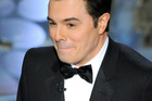 Host Seth MacFarlane performs onstage during the Oscars in Los Angeles. Photo / AP