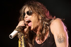 Aerosmith's Steven Tyler says he wanted to come to New Zealand after hearing good things from his daughter, Liv. Photo / AP