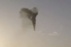 The terror lasted less than two minutes: Smoke poured from a hot air balloon carrying sightseers on a sunrise flight over the ancient city of Luxor, it burst in a flash of flame and then plummeted about 1000 feet to earth. Courtesy: YouTube/longshortvideos