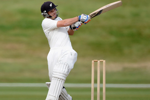 BJ Watling of a New Zealand XI bats during day four of the International Tour Match between the New Zealand XI and England. Photo / Getty Images.