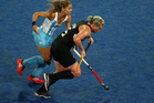 Katie Glynn of the Black Sticks. Photo / Getty Images.