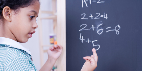 Sir Vaughan says it is highly debatable whether we are teaching children maths in the best and most effective way. Photo / Thinkstock
