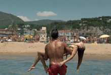 A still from the ad.