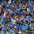 Fans at the Blues v Crusaders Super Rugby match at Eden Park, Auckland. Photo / Richard Robinson.