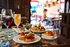 A selection of Pintxos (Basque Tapas) from new Spanish eatery in Ponsonby Pintxos. Photo / Babiche Martens