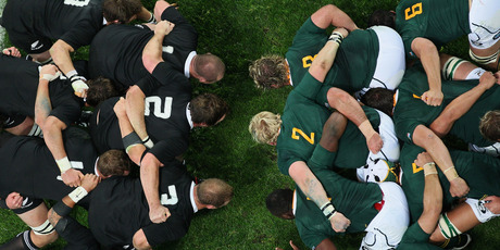 The IRB is preparing to trial yet more new scrum laws. Photo / Getty Images