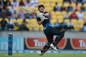 Otago left-hander Hamish Rutherford has the inside running. Photo / Getty Images