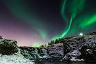 The aurora borealis - nature's northern lights - is a big 'must see' for most visitors to Iceland. Photo / Supplied