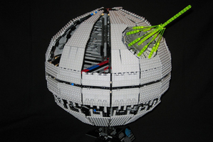 There's simply no point in dusting the Lego Death Star. Thanks, Quentin Crisp. Photo / Supplied