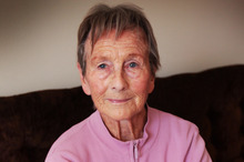Thea Hallie, 83, had to wait half an hour for an ambulance that never arrived. Photo / Doug Sherring 